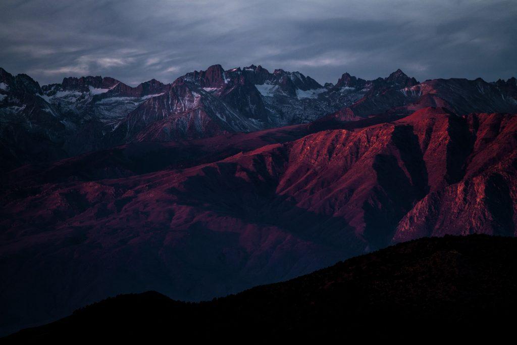 Dark Mountain Landscape